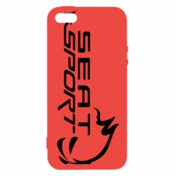 Чехол для iPhone5/5S/SE SEAT SPORT