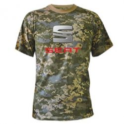 Камуфляжная футболка Сеат