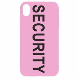 Чехол для iPhone XR Security