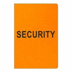 Блокнот А5 Security