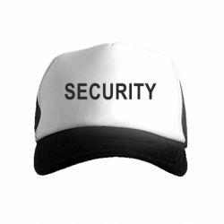 Детская кепка-тракер Security