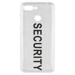 Чехол для Xiaomi Redmi 6 Security - FatLine