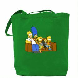 Сумка Семейство Симпсонов
