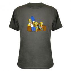 Камуфляжная футболка Семейство Симпсонов