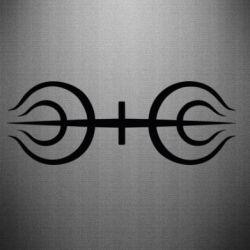 Наклейка Senju clan