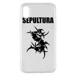 Чохол для iPhone X/Xs Sepultura
