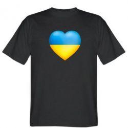 Мужская футболка Серце патріота - FatLine