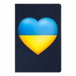Блокнот А5 Серце патріота