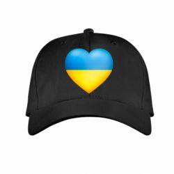 Детская кепка Серце патріота - FatLine