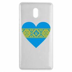 Чехол для Nokia 3 Серце України - FatLine