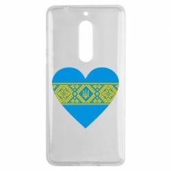 Чехол для Nokia 5 Серце України - FatLine