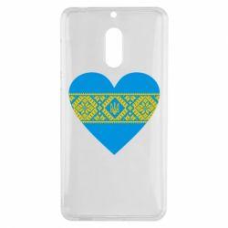 Чехол для Nokia 6 Серце України - FatLine