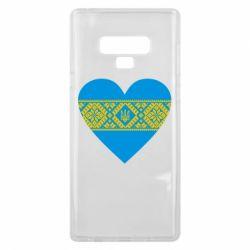 Чехол для Samsung Note 9 Серце України - FatLine