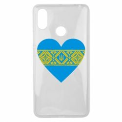 Чехол для Xiaomi Mi Max 3 Серце України - FatLine