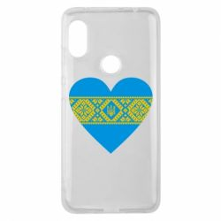 Чехол для Xiaomi Redmi Note 6 Pro Серце України - FatLine