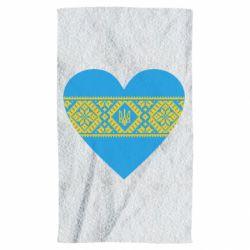 Полотенце Серце України - FatLine