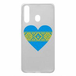 Чехол для Samsung A60 Серце України