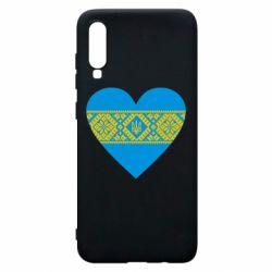 Чехол для Samsung A70 Серце України