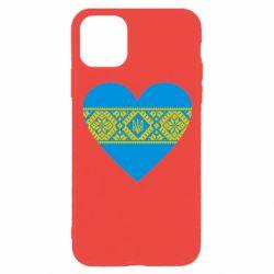 Чехол для iPhone 11 Pro Серце України