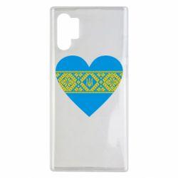 Чехол для Samsung Note 10 Plus Серце України