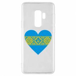 Чехол для Samsung S9+ Серце України - FatLine