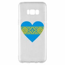 Чехол для Samsung S8+ Серце України - FatLine