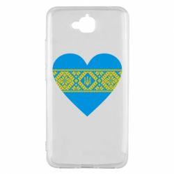 Чехол для Huawei Y6 Pro Серце України - FatLine