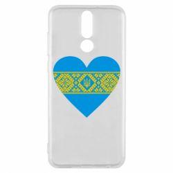 Чехол для Huawei Mate 10 Lite Серце України - FatLine