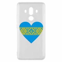 Чехол для Huawei Mate 10 Pro Серце України - FatLine