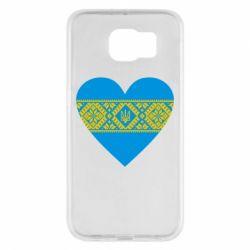 Чехол для Samsung S6 Серце України - FatLine