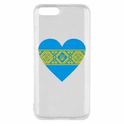 Чехол для Xiaomi Mi6 Серце України - FatLine