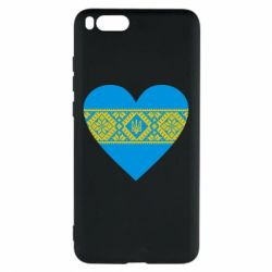 Чехол для Xiaomi Mi Note 3 Серце України - FatLine