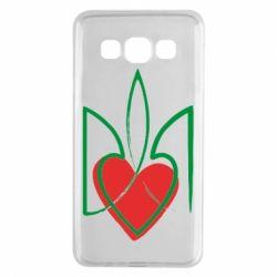Чехол для Samsung A3 2015 Серце з гербом