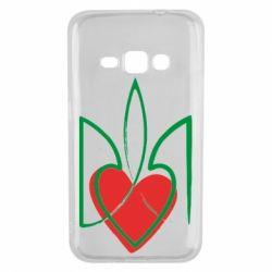 Чехол для Samsung J1 2016 Серце з гербом