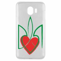 Чехол для Samsung J4 Серце з гербом