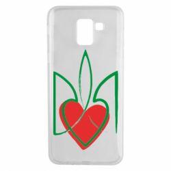 Чехол для Samsung J6 Серце з гербом