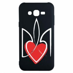 Чехол для Samsung J7 2015 Серце з гербом