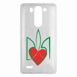 Чехол для LG G3 mini/G3s Серце з гербом - FatLine