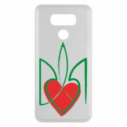 Чехол для LG G6 Серце з гербом - FatLine