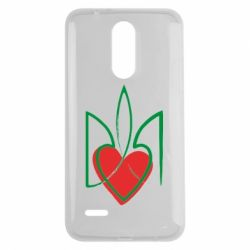 Чехол для LG K7 2017 Серце з гербом - FatLine