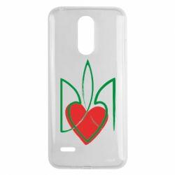 Чехол для LG K8 2017 Серце з гербом - FatLine