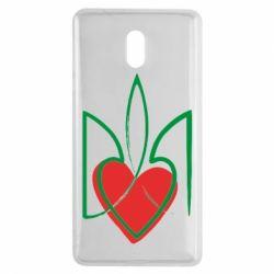 Чехол для Nokia 3 Серце з гербом - FatLine