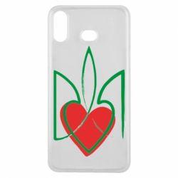 Чехол для Samsung A6s Серце з гербом