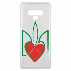 Чехол для Samsung Note 9 Серце з гербом