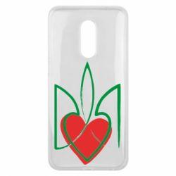 Чехол для Meizu 16 plus Серце з гербом - FatLine