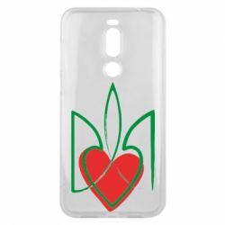 Чехол для Meizu X8 Серце з гербом - FatLine