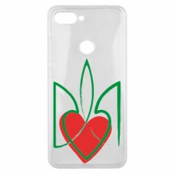 Чехол для Xiaomi Mi8 Lite Серце з гербом