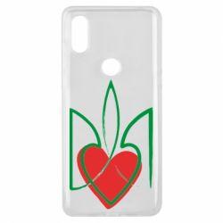 Чехол для Xiaomi Mi Mix 3 Серце з гербом - FatLine