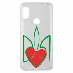 Чехол для Xiaomi Redmi Note 6 Pro Серце з гербом - FatLine