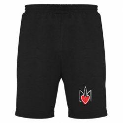 Мужские шорты Серце з гербом - FatLine